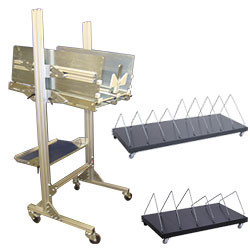 Chariot support cartons