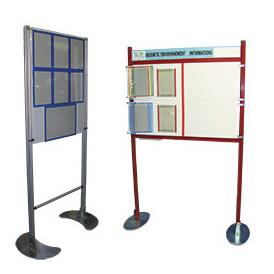 Panneau communication structure profilé aluminium