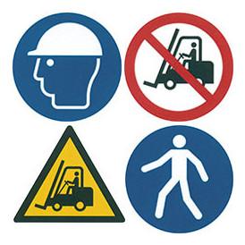 Pictogramme de sécurité adhésif
