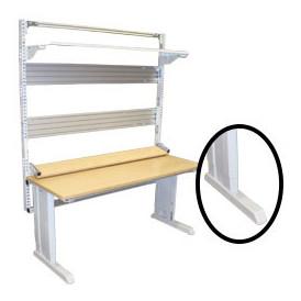 Poste de travail ergonomique industriel hauteur réglable TPAL