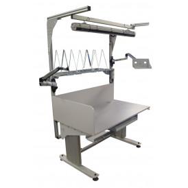 Poste de travail ergonomique à hauteur réglable motorisé