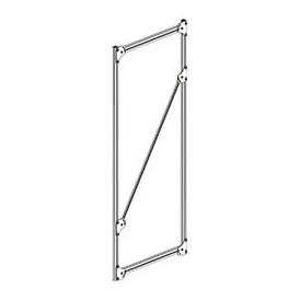 Structure en profilés aluminium pour rayonnage dynamique
