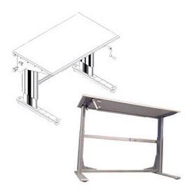 Table à manivelle