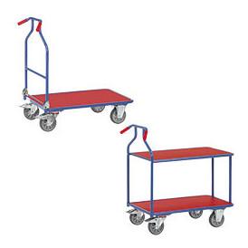 Chariot à poignées ergonomiques