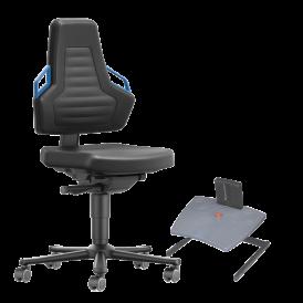 Sièges, chaises d'atelier, assis-debout, repose-pieds et tapis antifatigue pour les professionnels
