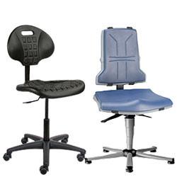Siège ergonomique d'atelier