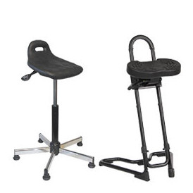 Siège assis debout d'atelier