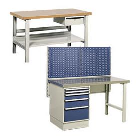 Etabli d'atelier industriel professionnel ergonomique