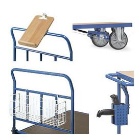 Accessoires de chariots d'atelier