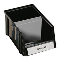 Bac à bec empilable et accrochable sur porte-bacs