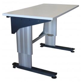 Poste de travail hauteur réglable TPALR cadre aluminium
