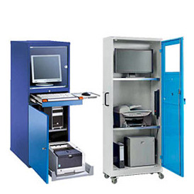 Armoire informatique ergonomique