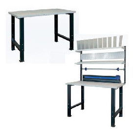 Sélection économique de tables d'emballage industrielle