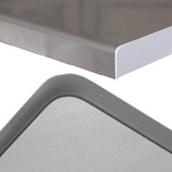Plan de travail du poste montants profilés aluminium
