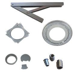 Accessoires du plan de travail du poste de travail avec cadre en profilés aluminium