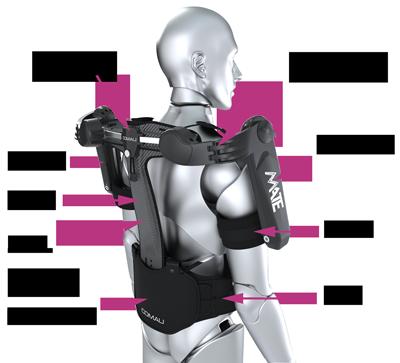 Caractéristiques exosquelette
